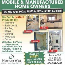 Mountain West Mobile Home Supply Door Sales Installation