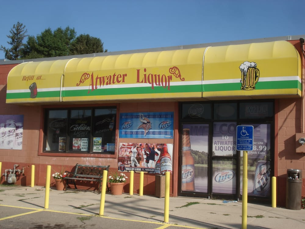 Atwater Liquor: 107 Pleasant Ave W, Atwater, MN