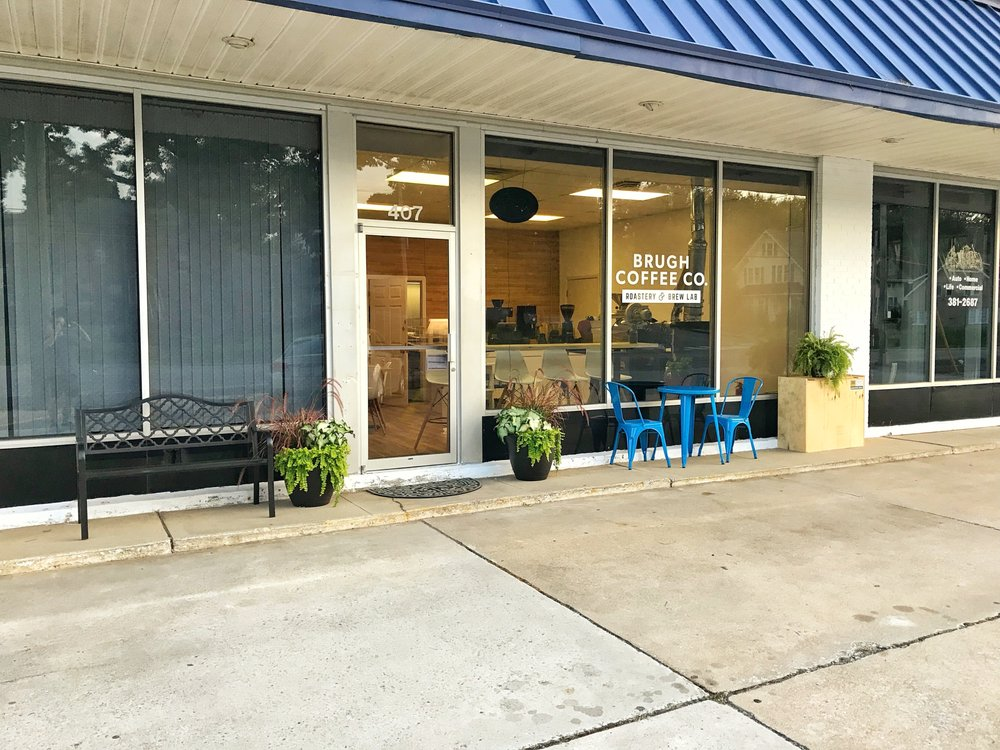 Brugh Coffee: 407 Roanoke Street Ste, Christiansburg, VA