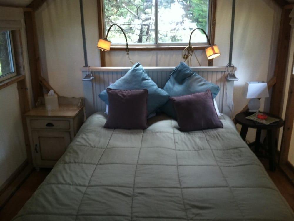 Photo of Costanoa - Pescadero CA United States. Cypress Tent Cabin & Cypress Tent Cabin - Yelp