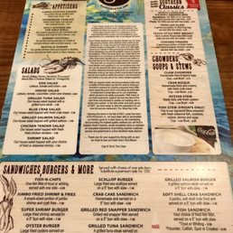 Stingray Cafe New Bern Nc Menu
