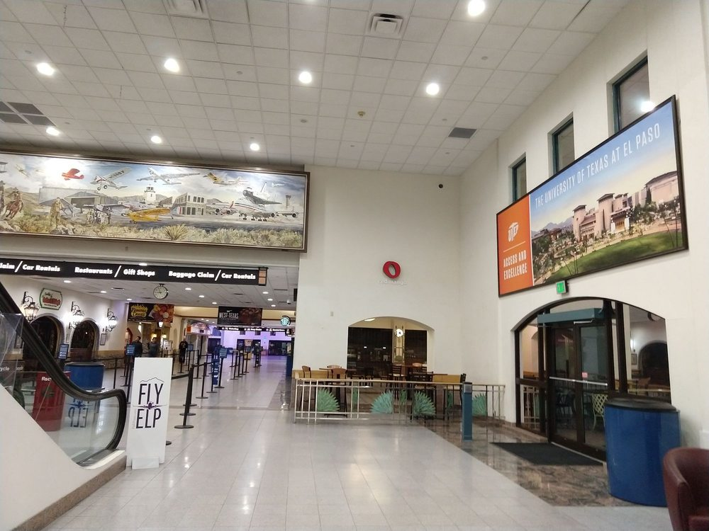 El Paso International Airport - ELP: 6701 Convair Rd, El Paso, TX