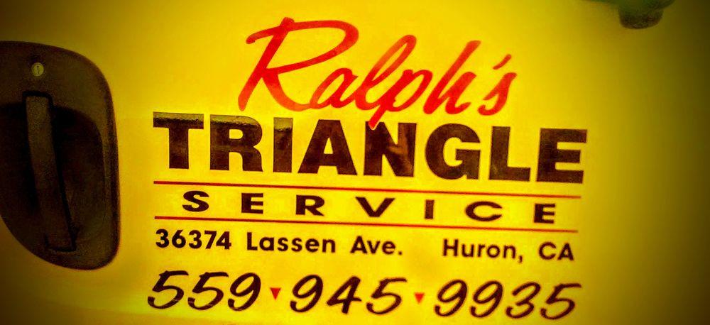 Ralph's Triangle Service: 36374 S Lassen Ave, Huron, CA