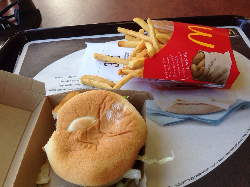 Filet o 39 fish meal with some old fries yelp for Give me that filet o fish