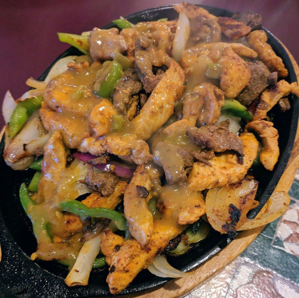 Food from El Dorado Mexican Restaurant