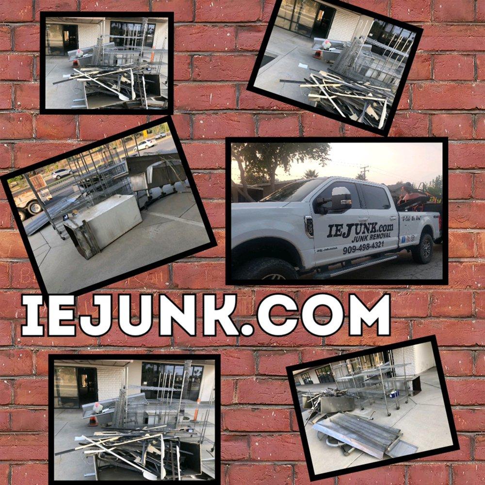 IE Junk: Mentone, CA