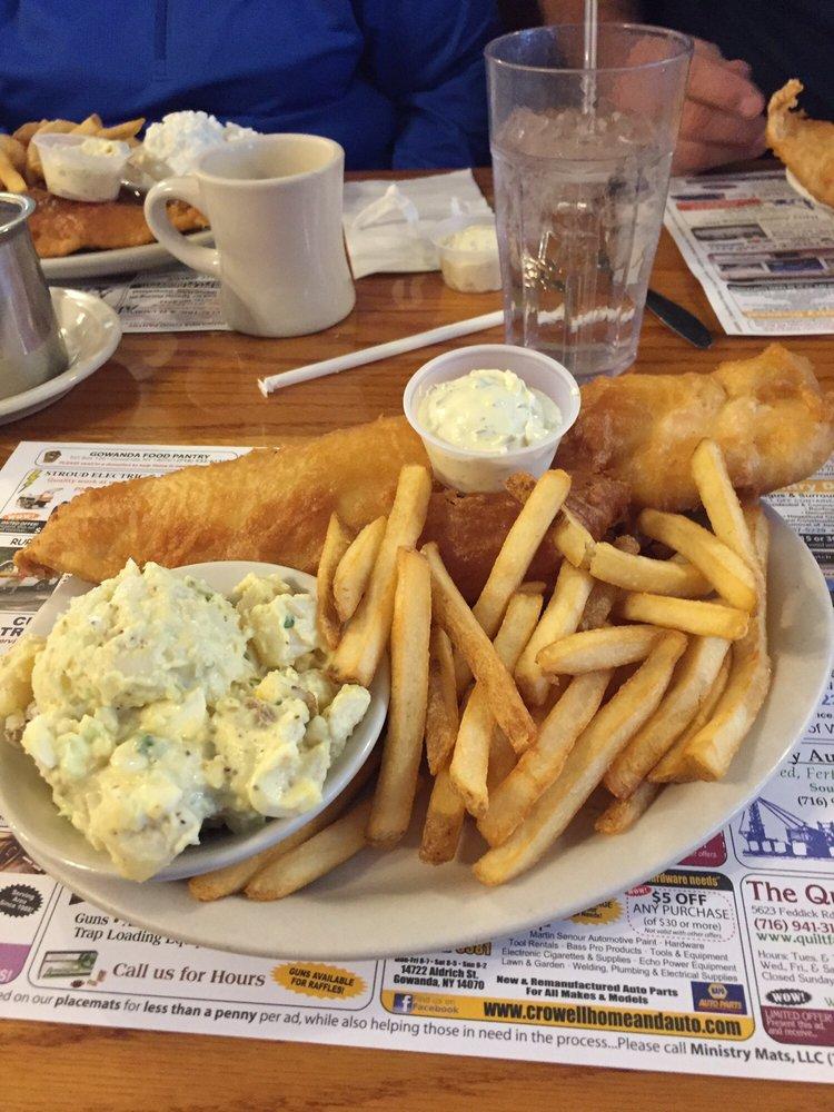 Goode's Family  Restaurant: 14313 Rte 62, Collins, NY