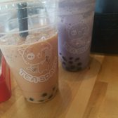 Photo of Tea Space Sunset Park - Las Vegas, NV, United States. Milk tea and taro with boba