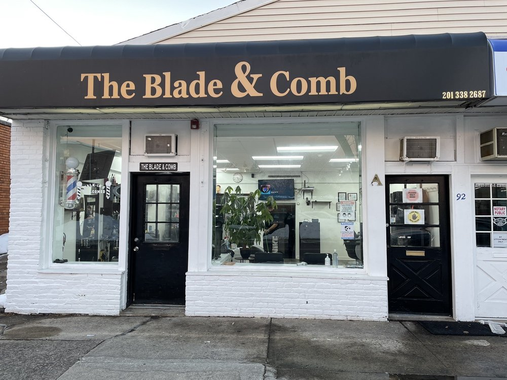 The Blade & Comb: 92 Washington Ave, Dumont, NJ