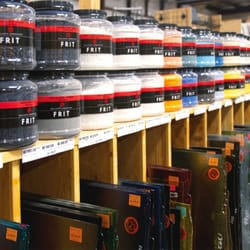 D l art glass supply art supplies 1440 w 52nd ave for Craft stores denver co