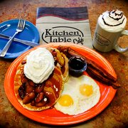 Kitchen Cafe Table Kitchen table cafe 209 photos 289 reviews breakfast brunch cinnamon apple french photo of kitchen table cafe vancouver wa united states caramel apple pancakes workwithnaturefo