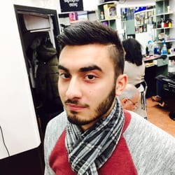 Brooklyn facial hair in salon