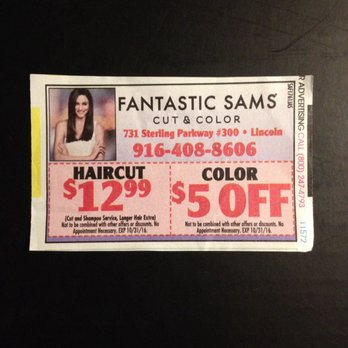 photo regarding Fantastic Sams Printable Coupon referred to as Outstanding sams discount coupons california - Midwest tire
