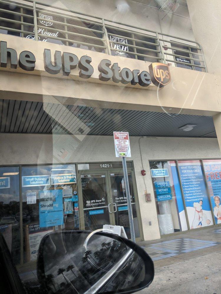 The UPS Store: 1421 SW 107th Ave, Miami, FL
