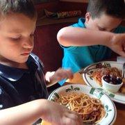 Spaghetti Menu Olive Garden Italian Restaurant Chandler