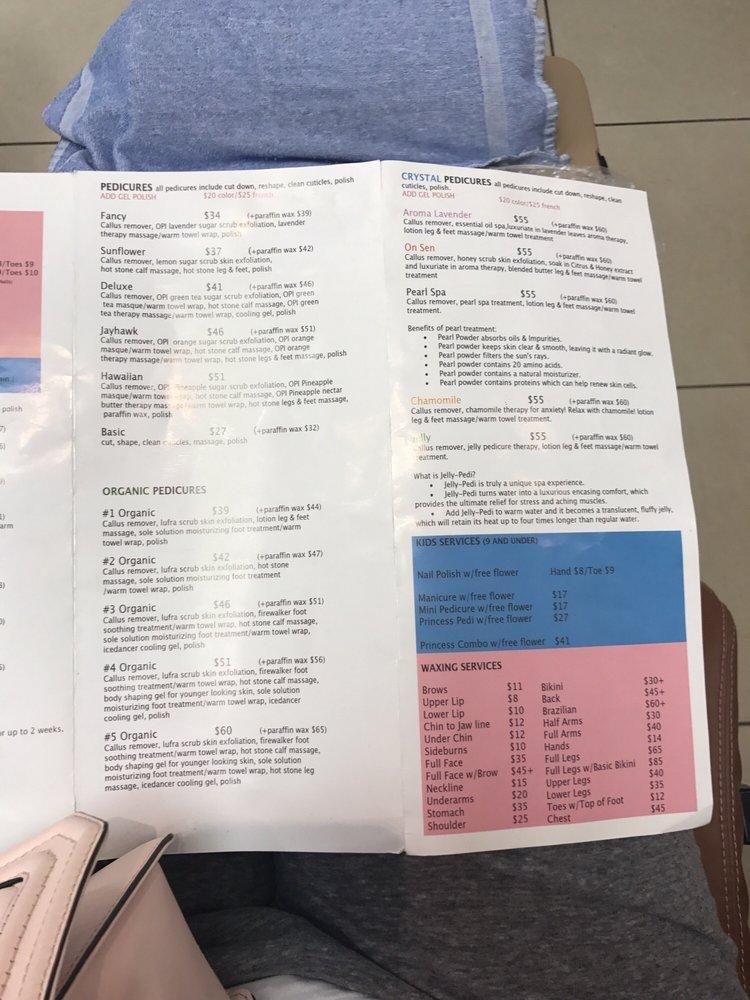 Service menu - Yelp