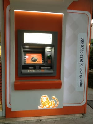 Photo For Ing Bank Atm