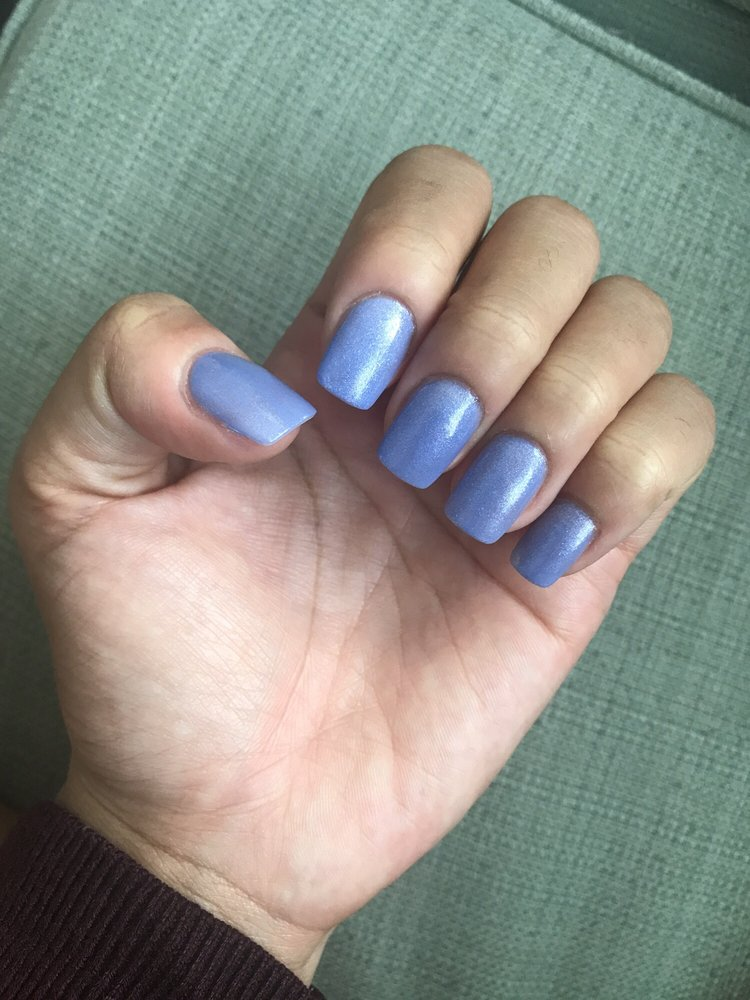 New set of acrylic nails by Tiffany. Absolutely gorgeous - Yelp