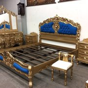 Canopy Chair ( Photo Of Home Mart   Los Angeles, CA, United States. Rococo  Bed Set