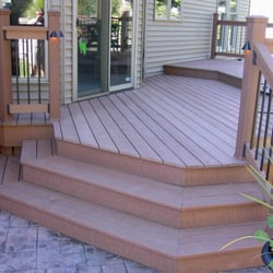 Photo Of Rzonca Construction   Richfield, OH, United States. Composite Deck  U0026 Colored