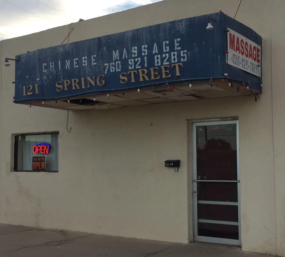 Chinese Massage: 121 S Spring St, Blythe, CA