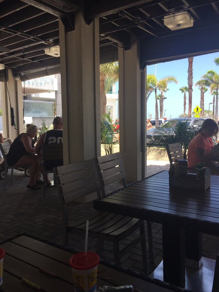 Salty S Island Bar Grille Clearwater Beach Fl