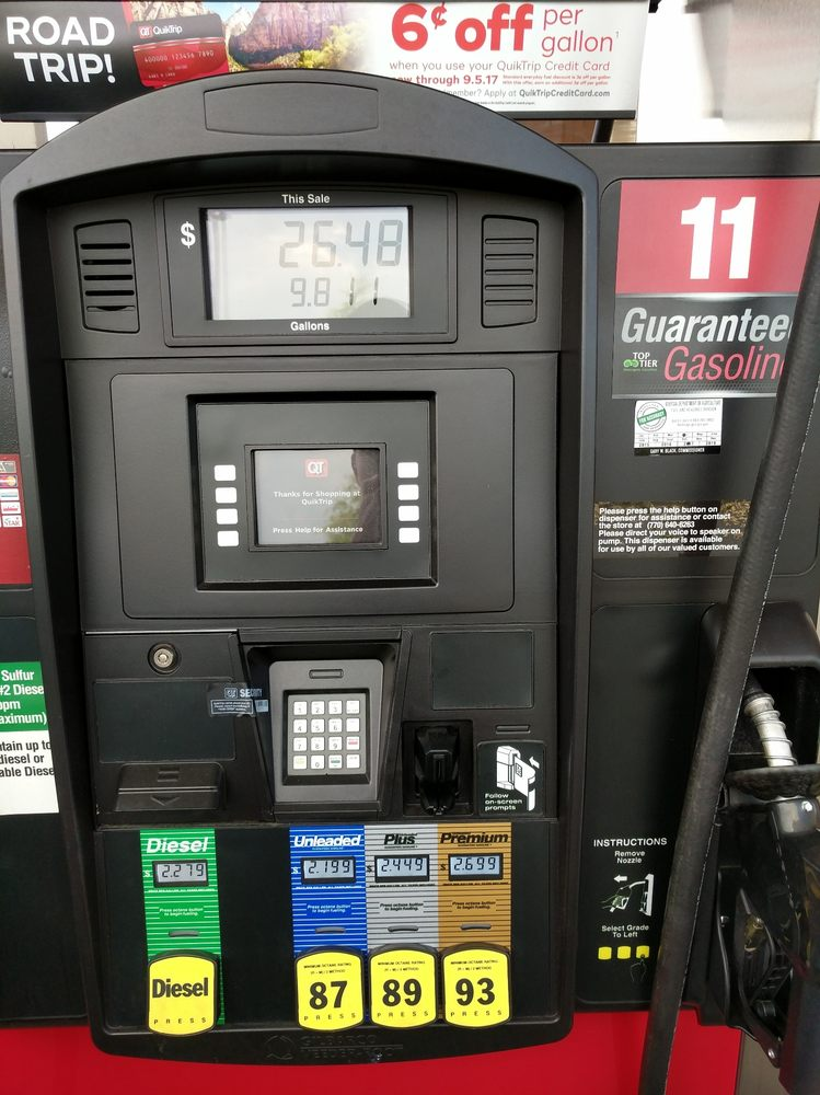 Gas Stations Near Me >> QuikTrip - Gas Stations - 1590 Mansell Rd, Alpharetta, GA - Phone Number - Yelp