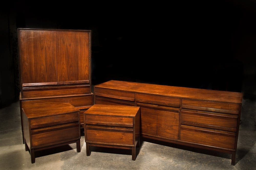 1950 39 s american of martinsville bedroom set yelp for American martinsville bedroom furniture