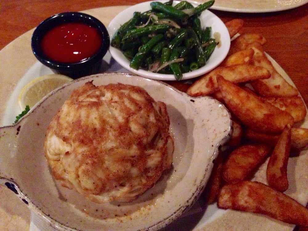 Crab Bomb 10oz Crab Cake Without Any Fillers With Potato
