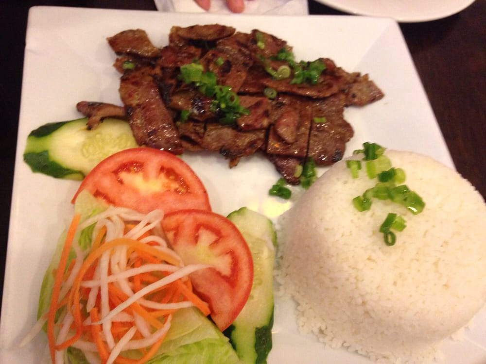 Grilled Pork Rice Plate Yelp