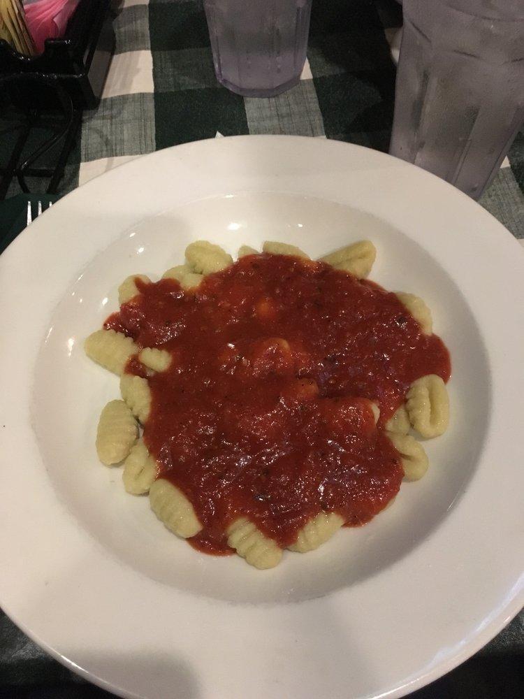 Peppino S Italian Restaurant: Gnocchi With Marinara