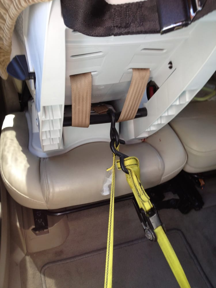 Tether Rear Facing Only With The Car Seats Tether Strap AND If The