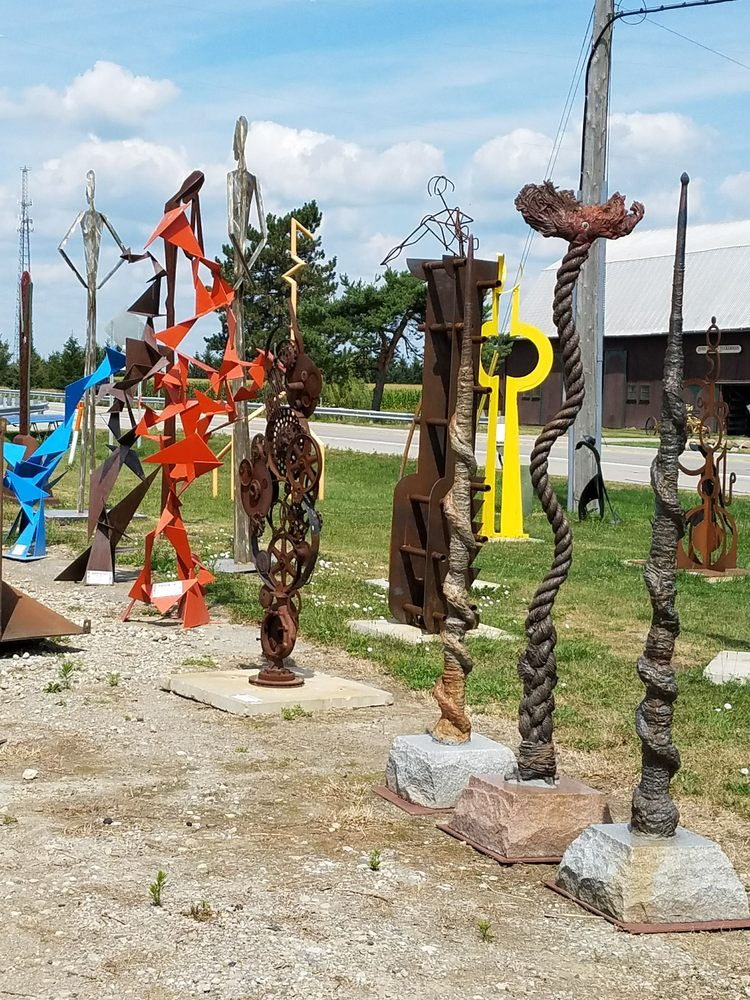 Flatlanders Sculpture Supply & Gallery: 11993 E US Highway 223, Blissfield, MI