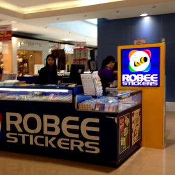 Photo of robee stickers plainview metro manila philippines robee stickers kiosk in