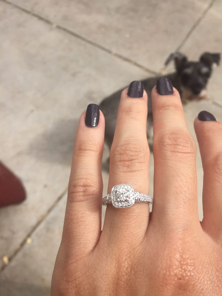 My beautiful Vera Wang engagement ring Yelp