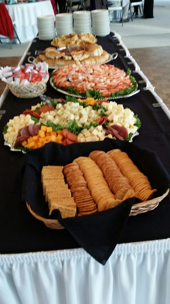 The Appetizer Table For One Of Our Wedding Receptions It Was