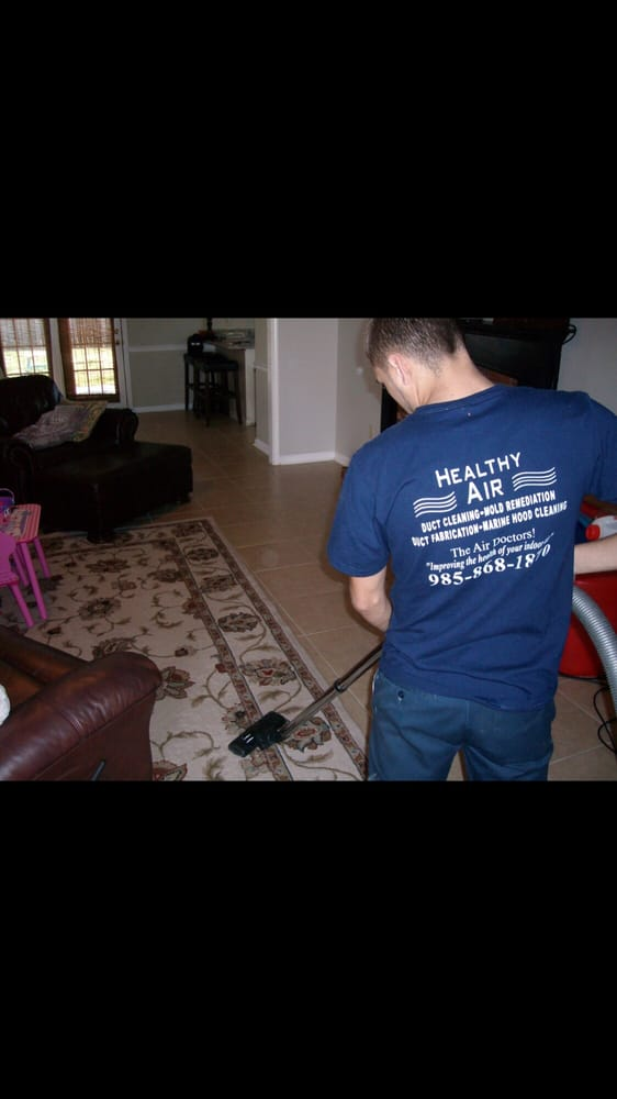 Healthy Air Duct Cleaning & Mold Remediation: 103 Olympe Dr, Houma, LA