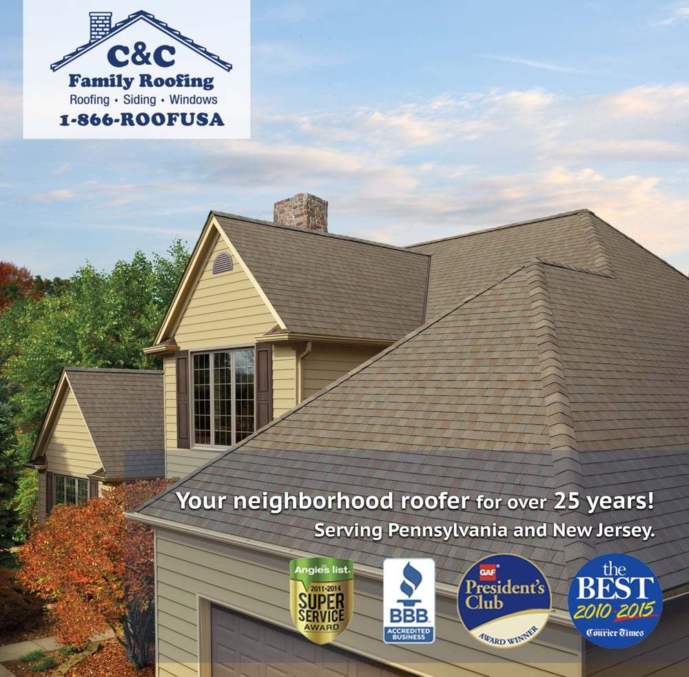 Elegant C U0026 C Family Roofing U0026 Siding   12 Reviews   Roofing   533 Davisville Rd,  Willow Grove, PA   Phone Number   Yelp
