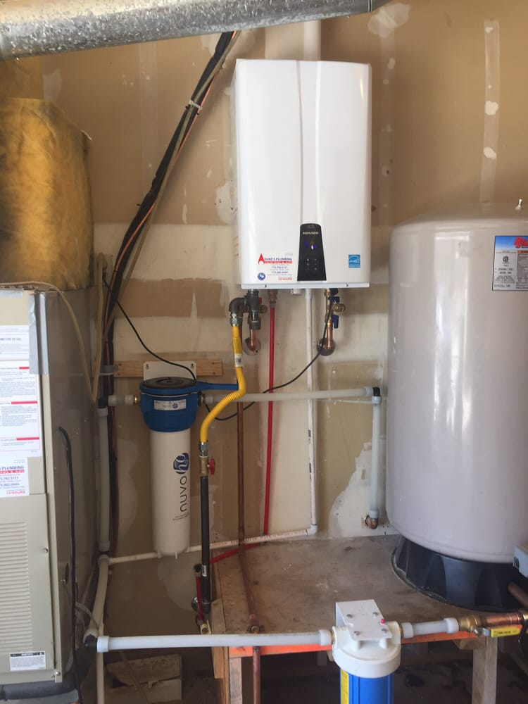new navien tankless water heater complete with new nuvo citrus whole
