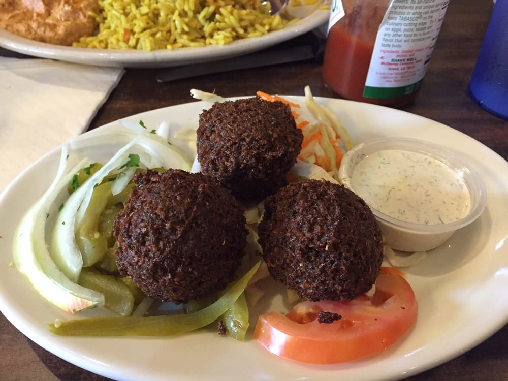 Freshest falafel ever yelp for Aladdins cuisine