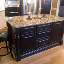 Photo Of Bull Restoration   Raleigh, NC, United States. Custom Island, Black