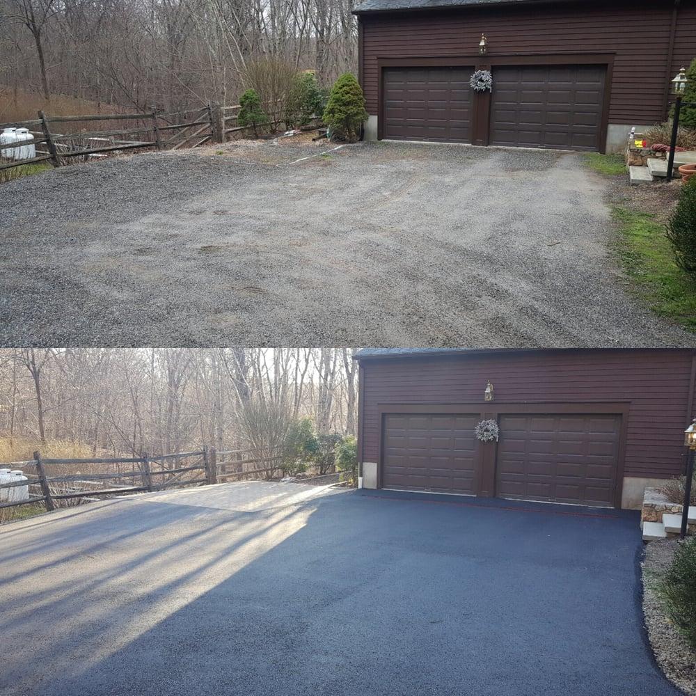 Marini Paving And Masonry Before And After New Driveway