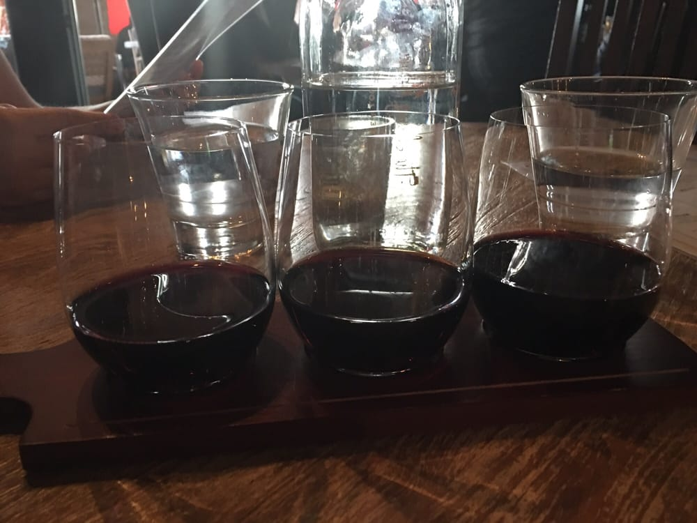 Red Wine Flight Cabernets Yelp