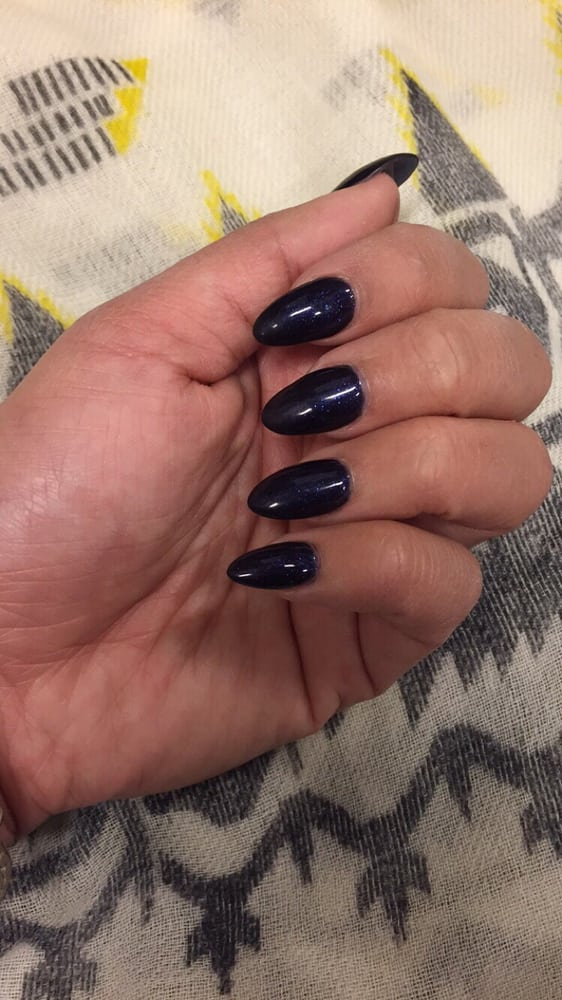 gel refills on acrylic nail for $35. Polish chipped after 2 days and ...
