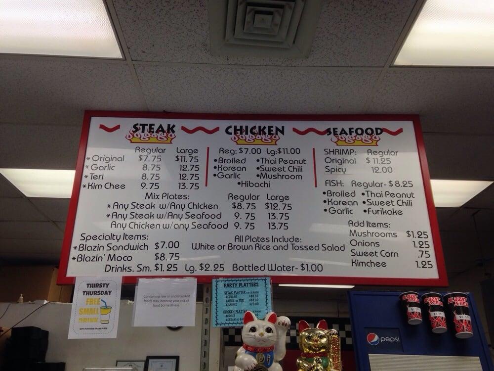 Photo Of Blazin Steaks Aiea Hi United States Updated Menu