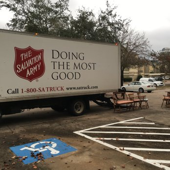 Salvation Army Truck Pick Up Service Community Service Non Profit