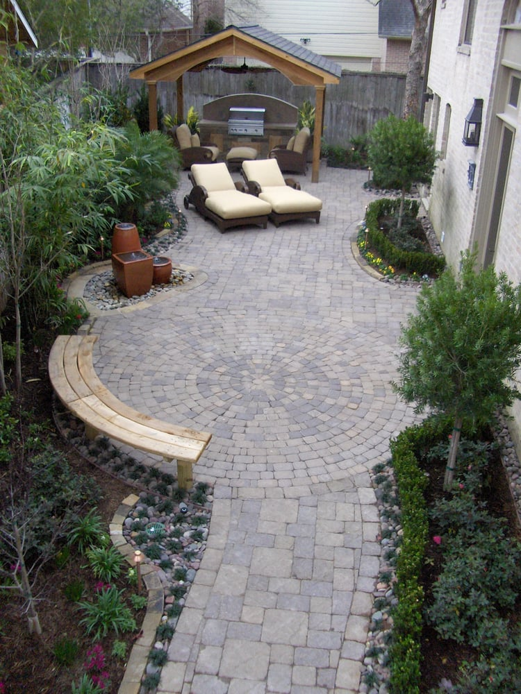Photo Of Bellaire Pavers   Houston, TX, United States. Custom Designed  Walkway To