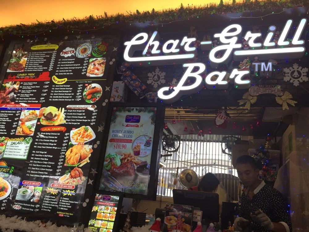 Char-Grill Bar Singapore