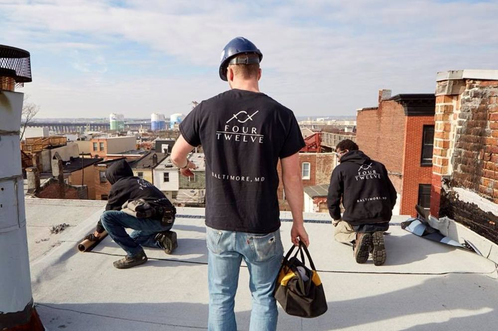 Four Twelve Roofing: 10 E North Ave, Baltimore, MD