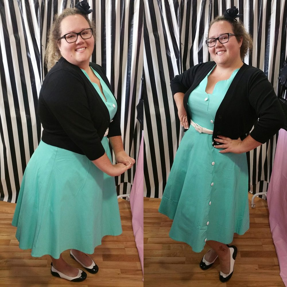 Pin Up Clothing Plus Size Rockabilly Dresses 1950s Skirts and Shoes ...
